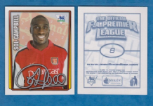 Arsenal Sol Campbell England 8